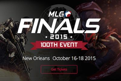 Celebrate the @MLG 100th event in New Orleans Oct 16-18! The best players compete for $500k http://t.co/R82RLhAVWl http://t.co/HP1qjVBOVp