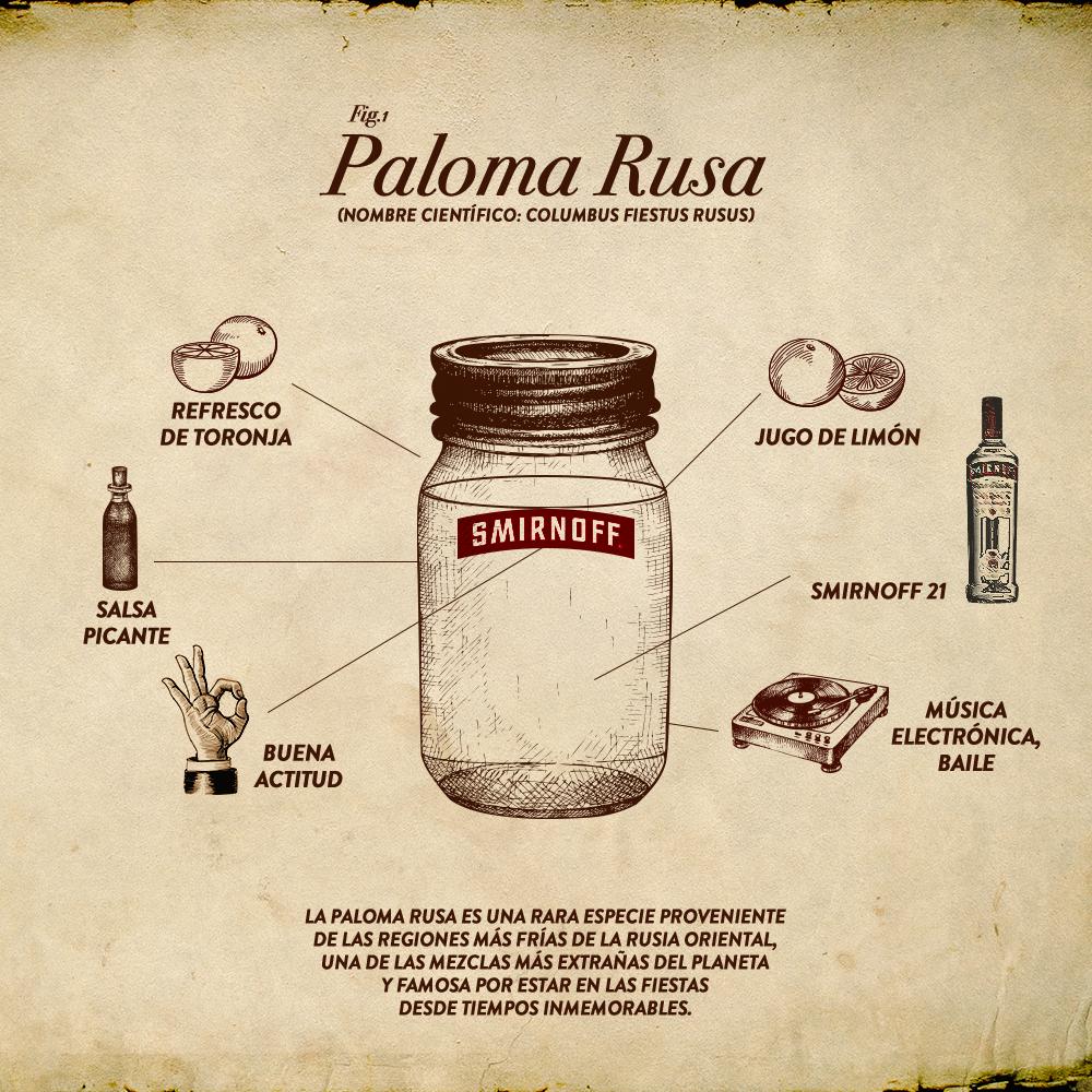 Desde la fría Rusa oriental llega: La Paloma Rusa.