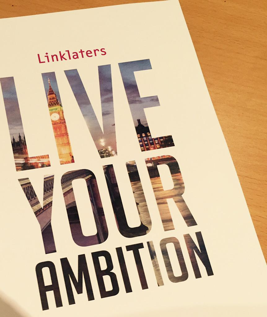 Find me on campus tomorrow to grab one of these!  #liveyourambition @LinklatersGrads #qmul #QMULwelcome http://t.co/IFCTpYnM3B