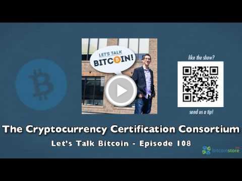 cryptocurrency certification consortium