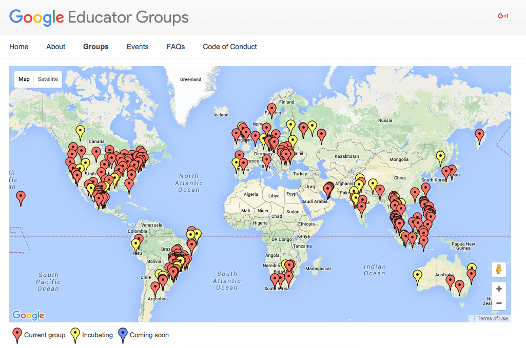 😀RT @kehall16: This map needs to be shifted @GoogleForEdu one of the most active groups @GEG_NZ cut off #ulearn15 http://t.co/p1tkfrYNWB