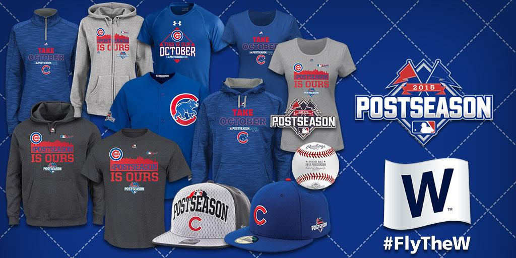 3da14413a5d LetsGo to the NLDS! Grab your  Cubs  postseason gear NOW   FlyTheW ...