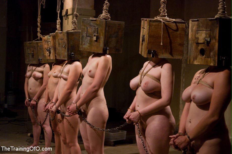 красотка попала в сексуальное рабство сходу приступает