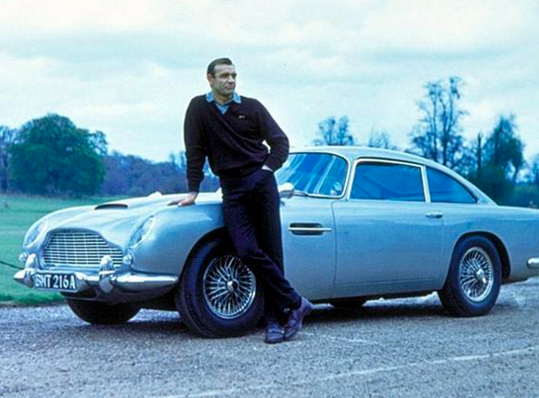 007 Spectre e tutte le Auto di James Bond.