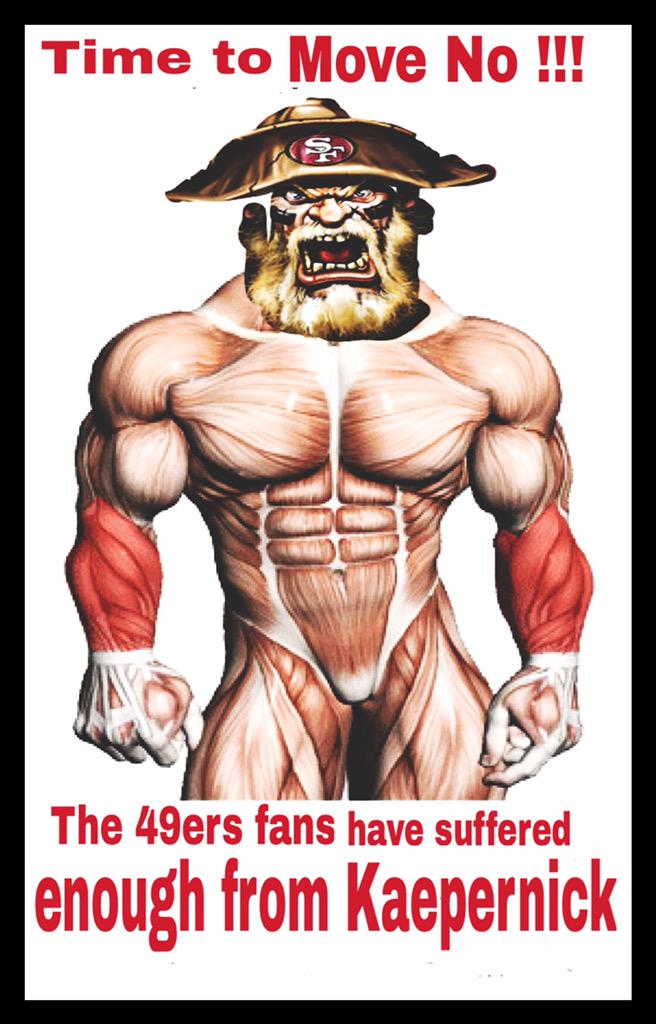49ers fans have suffered
