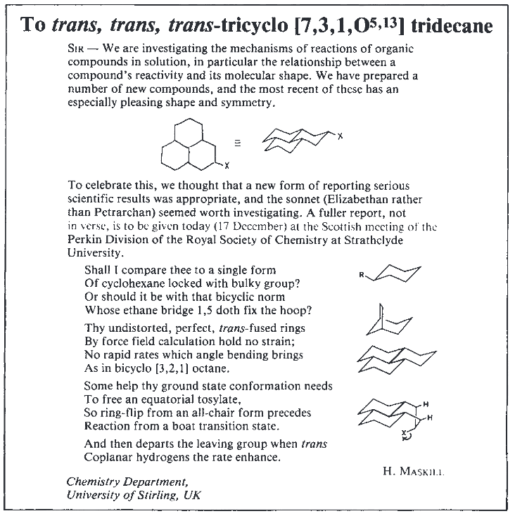 For #NationalPoetryDay - a look back at some chemistry poetry in @nature http://t.co/P259Yz3YCj http://t.co/VB05Ouarbh