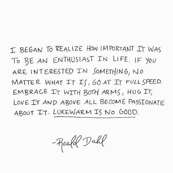 Roald Dahl had it right!