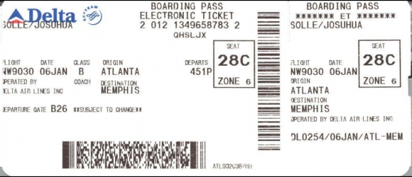 What's in a Boarding Pass Barcode? Don't toss it, shred it! - http://t.co/QJBJPTtiJ4 #travel #security rt @ljLoch http://t.co/5cbg5JsspT