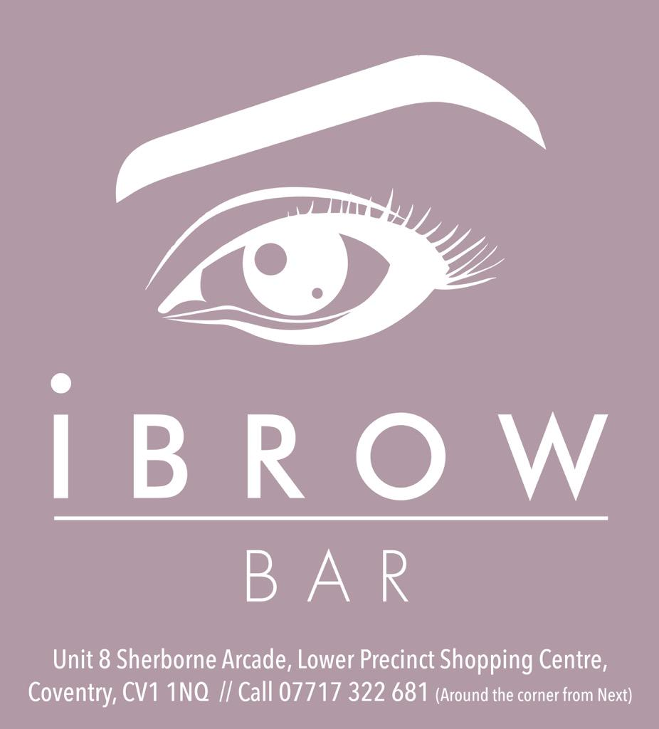 Nhsf Coventry On Twitter Proudly Sponsored By Ibrow Bar Coventry