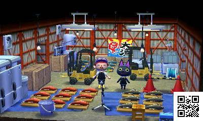 あつ森 魚市場