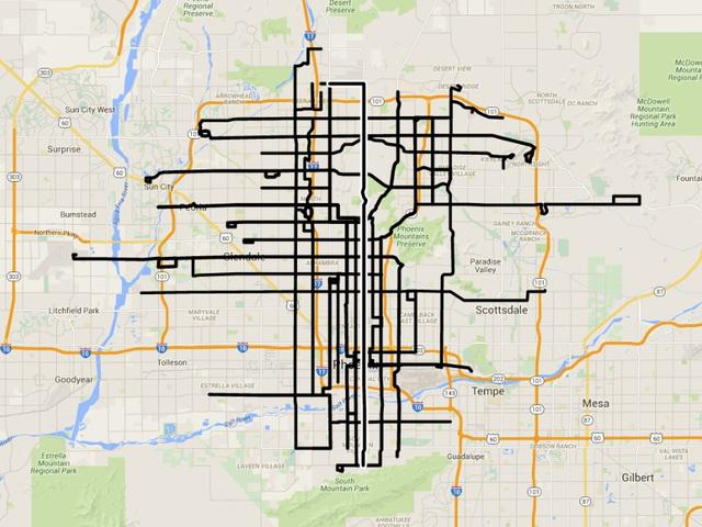 Valley Metro : MAP Valley Metro bus strike affect bus routes