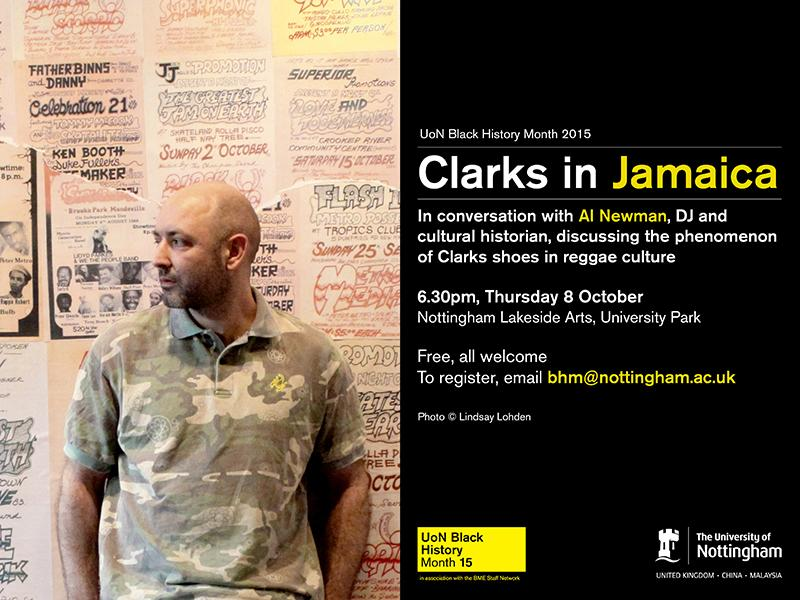 Tonight from 6.30pm, we'll be live tweeting Al Newman's talk 'Clarks in Jamaica' http://t.co/LhRmOnmt99 #NottsBHM http://t.co/C1VBt6lNCX