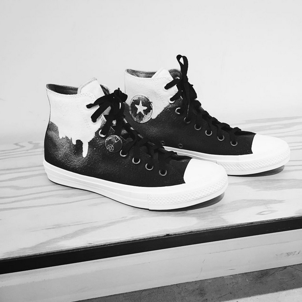 543c1484c54a ... greece converse on twitter ride alone. together. custom converse chuck  taylor all star iis