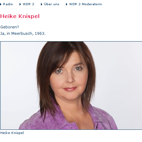 Wdr 4 Heike Knispel