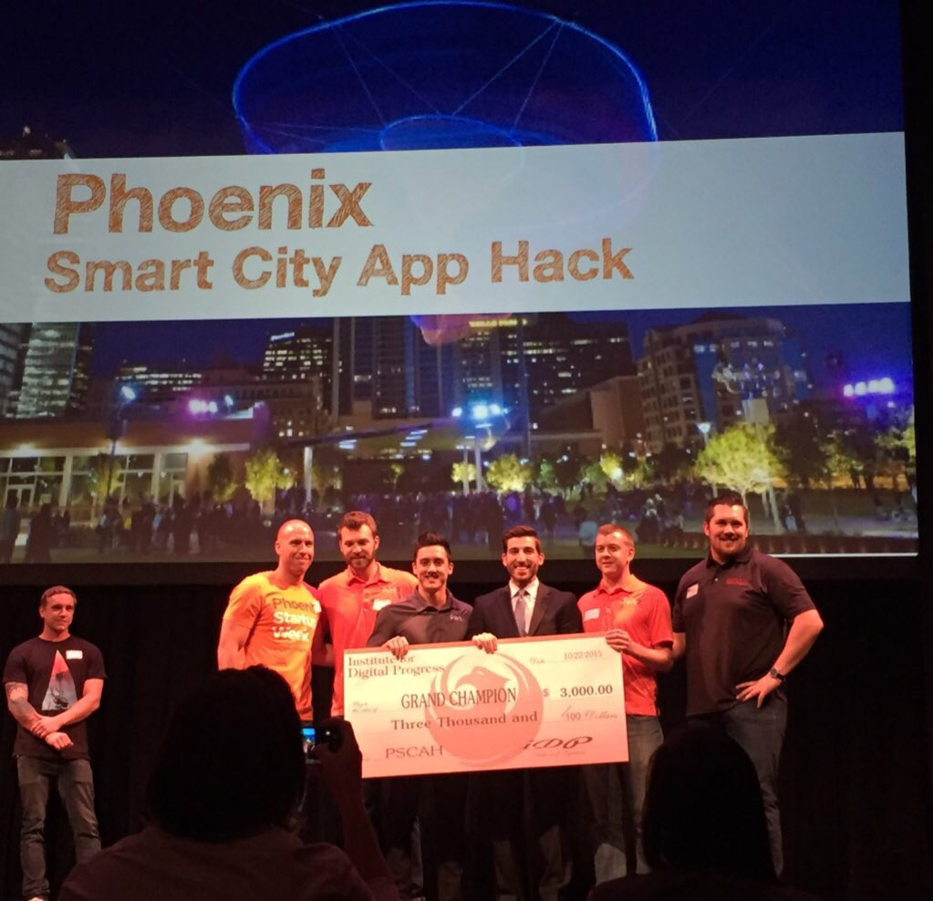 Congrats to awesome new parking app & #SCAH_PHOENIX winner @getParkX https://t.co/csycJE7Fz4
