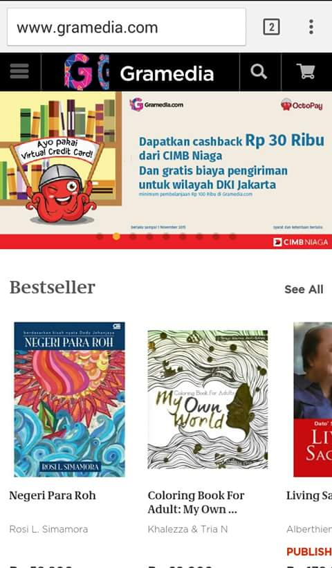 My Own World Coloring Book For Adults Best Seller Gramedia Tabrak Warna Renebooks 987Genfm Delta FMpictwitter IYGDOzX8AS