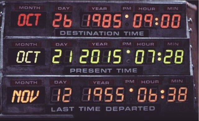 Where's my hoverboard? #BackToTheFuture #BackInTheEighties https://t.co/6tnG7pc0Dc