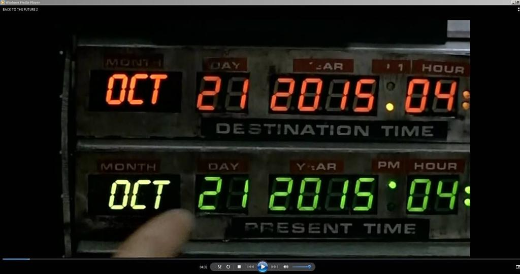 Happy actual #backtothefuture day! For those too young to remember this, rent it on vhs. I mean dvd. I mean Netflix. https://t.co/ieNi9vRGdC
