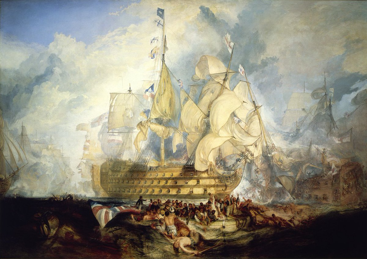 It's #TrafalgarDay! We'll be tweeting 'live' news from the battle at the approx. times it happened 210 yrs ago… https://t.co/6bDIlRw1jM
