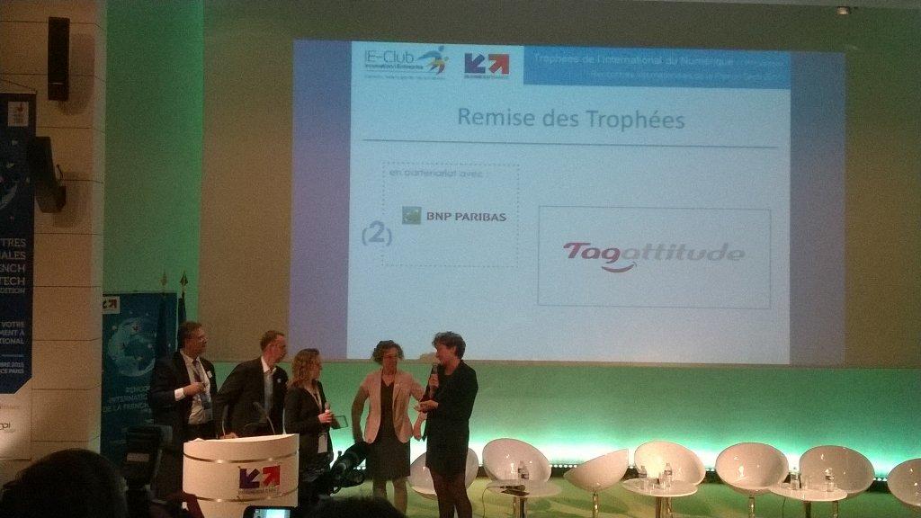 @tagattitude gagne un prix de linternational aux #FrenchtechRI #Fintech coming soon in @FrenchTechViet https://t.co/IyXi161nSs