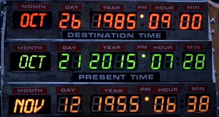 Happy Back To The Future Day! #BackToTheFuture #BTTFDAY https://t.co/C3RVsvpACC