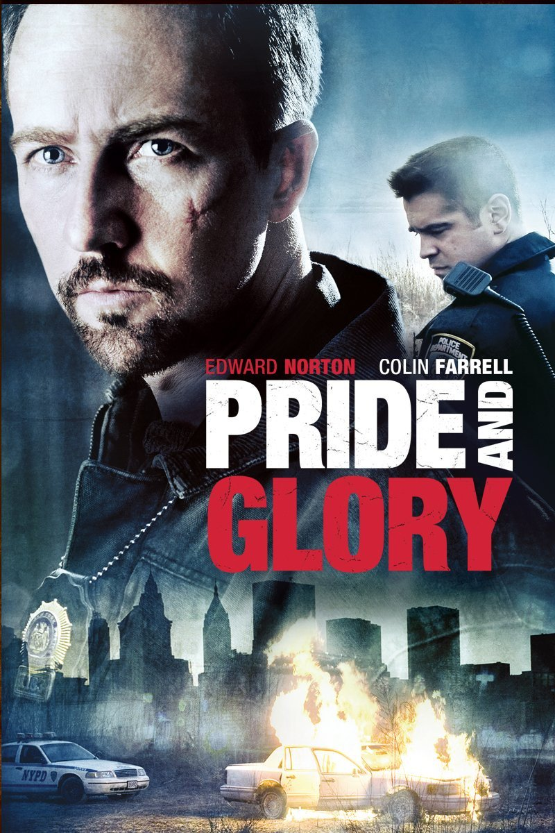 I watched the 2008 #movie Pride and Glory - Edward Norton, Colin Farrell and Jon Voight🎥 Great gritty NYC cop film