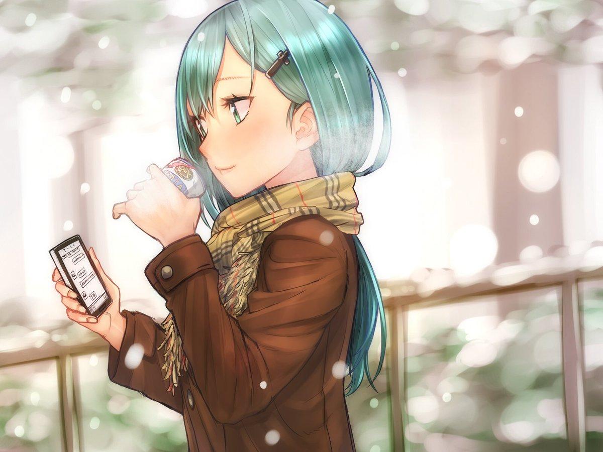 冬でJKな鈴谷描いた pic.twitter.com/IQPK52xpB8