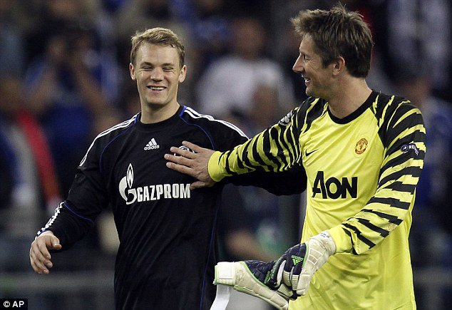 """Bayern & Germany on Twitter: """"Manuel Neuer says that Edwin van der Sar has  always been a source of inspiration for him during his career  https://t.co/ZEftYj4LyF"""""""