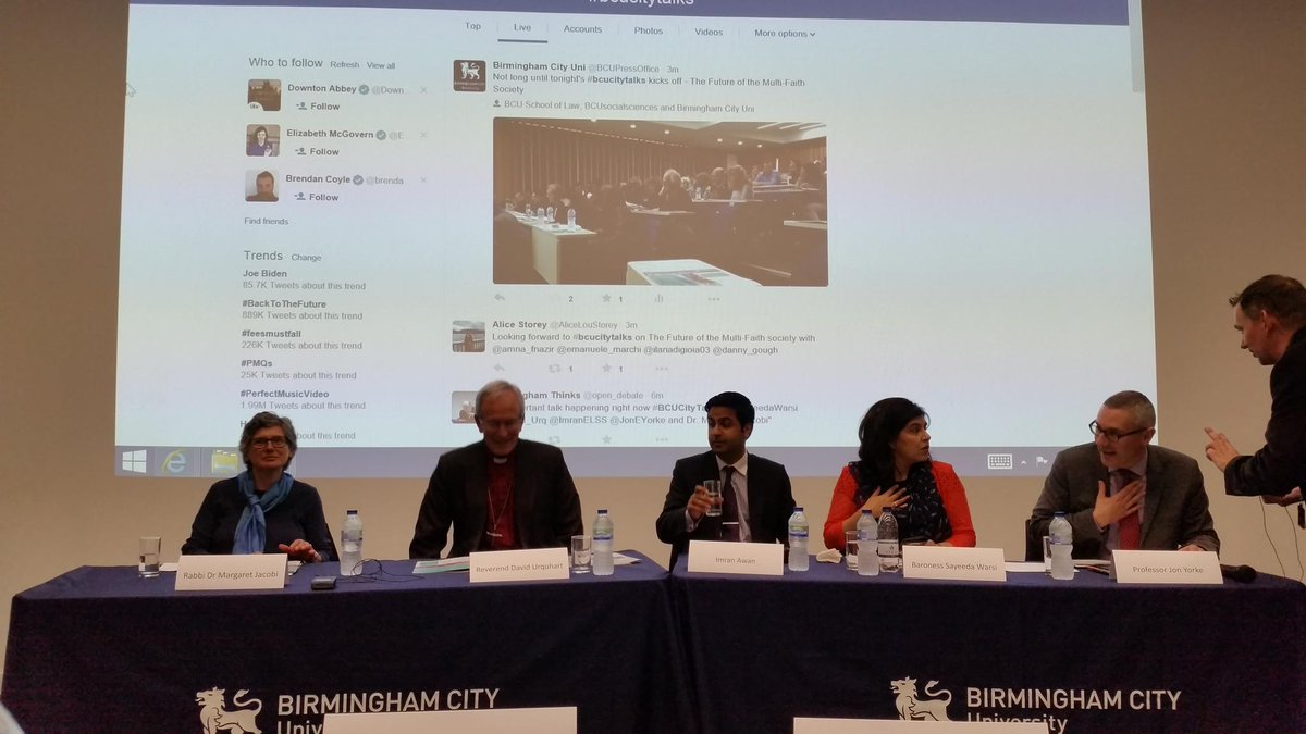 Thumbnail for BCU City Talks: The Future of the Multi-Faith Society