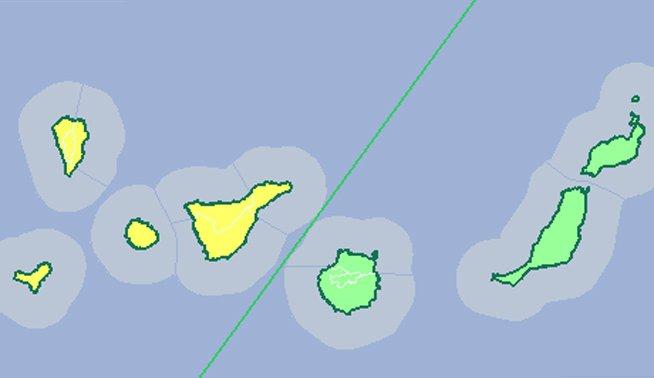 RT @la_opinion: La AEMET actualiza avisos por lluvias en #Canarias https://t.co/8fDfOMFG9x Si tienes fotos compártelas con #FMA_