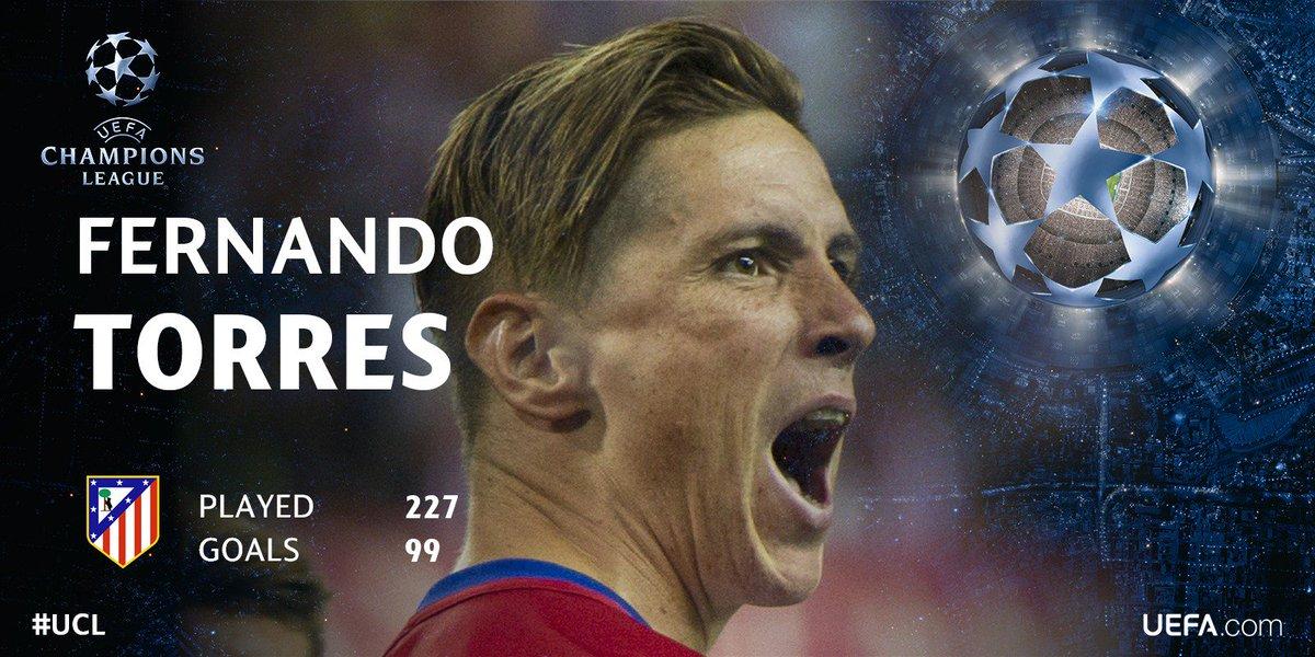 В матче с «Астаной» Торрес может забить сотый гол за «Атлетико»