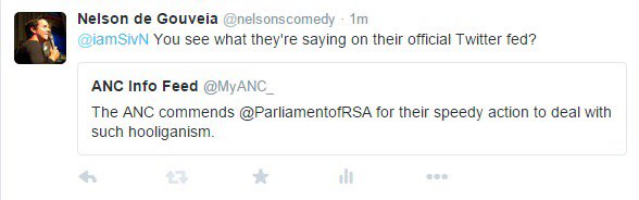 ANC deleted this Tweet they sent out #FeesMustFall https://t.co/z91Ggu7WTU