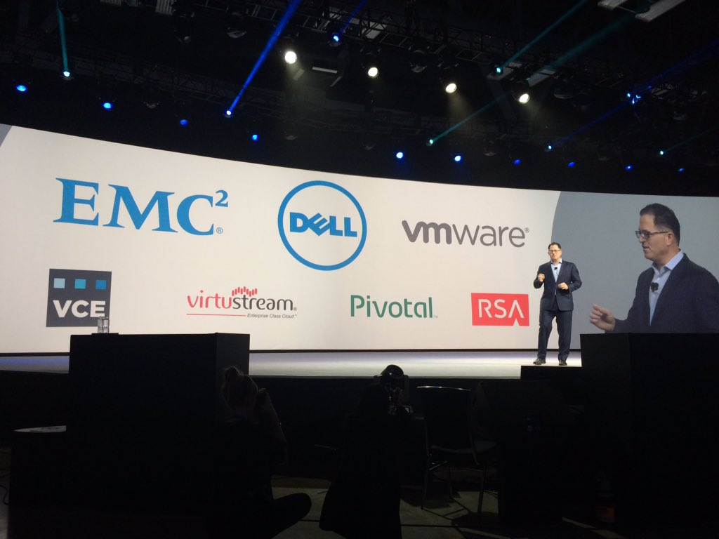 The new Dell + EMC Federation #DellWorld https://t.co/X8I3d0m6nC