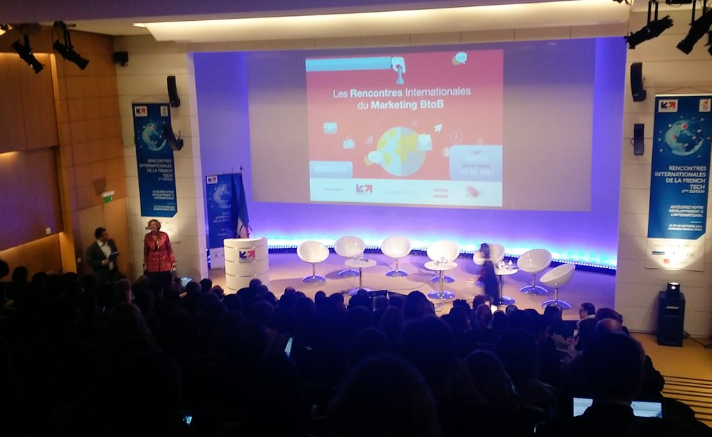 "Lancement #RIM2015, ""Rencontres internationales du #marketingb2b"" par @mkhodja1 chez @businessfrance. #sallecomble https://t.co/UN0IYTlHDT"