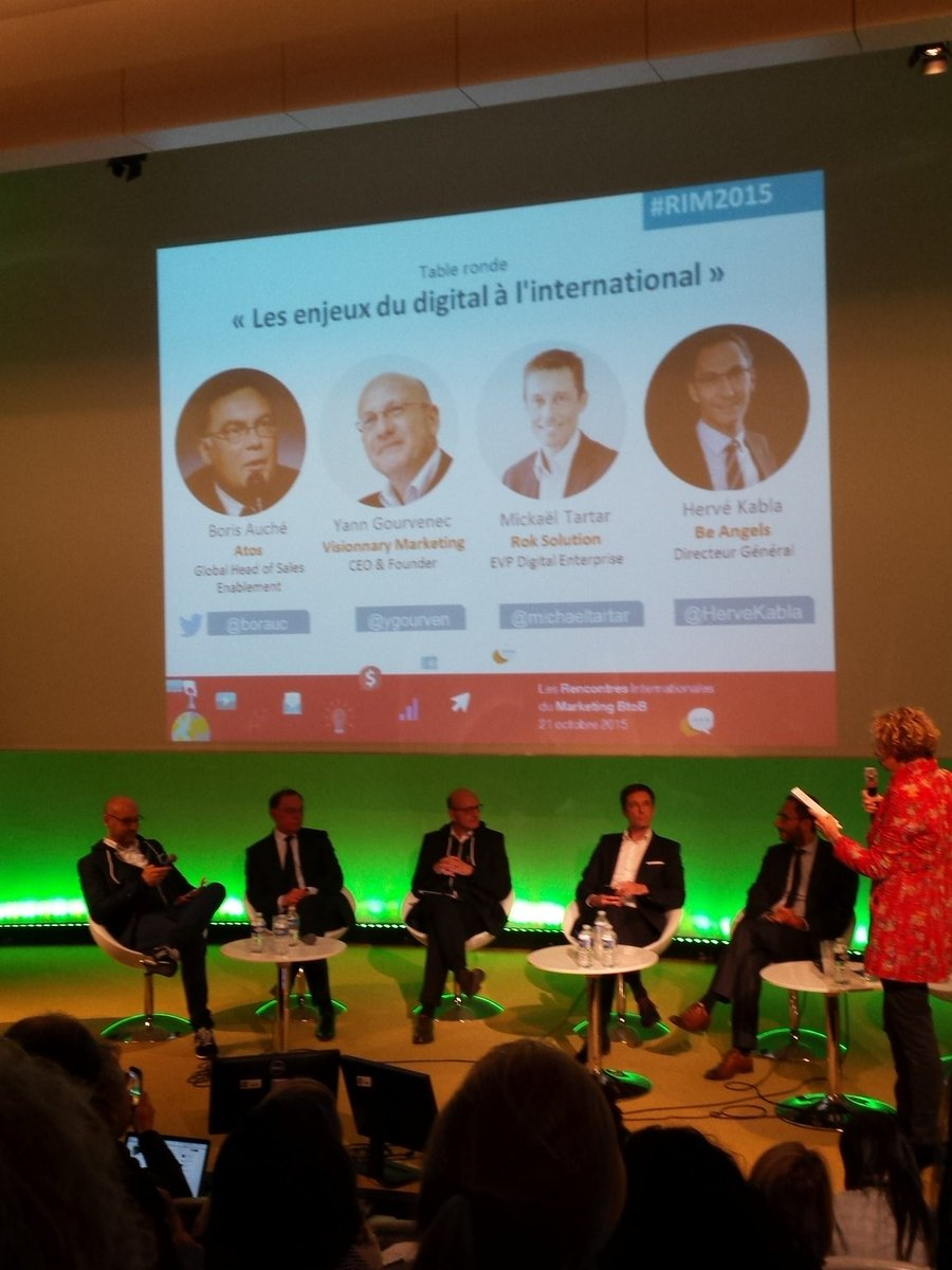Table ronde #enjeux #digital à l #international #RIM2015 avec @ygourven https://t.co/rJ3X1TaMmP