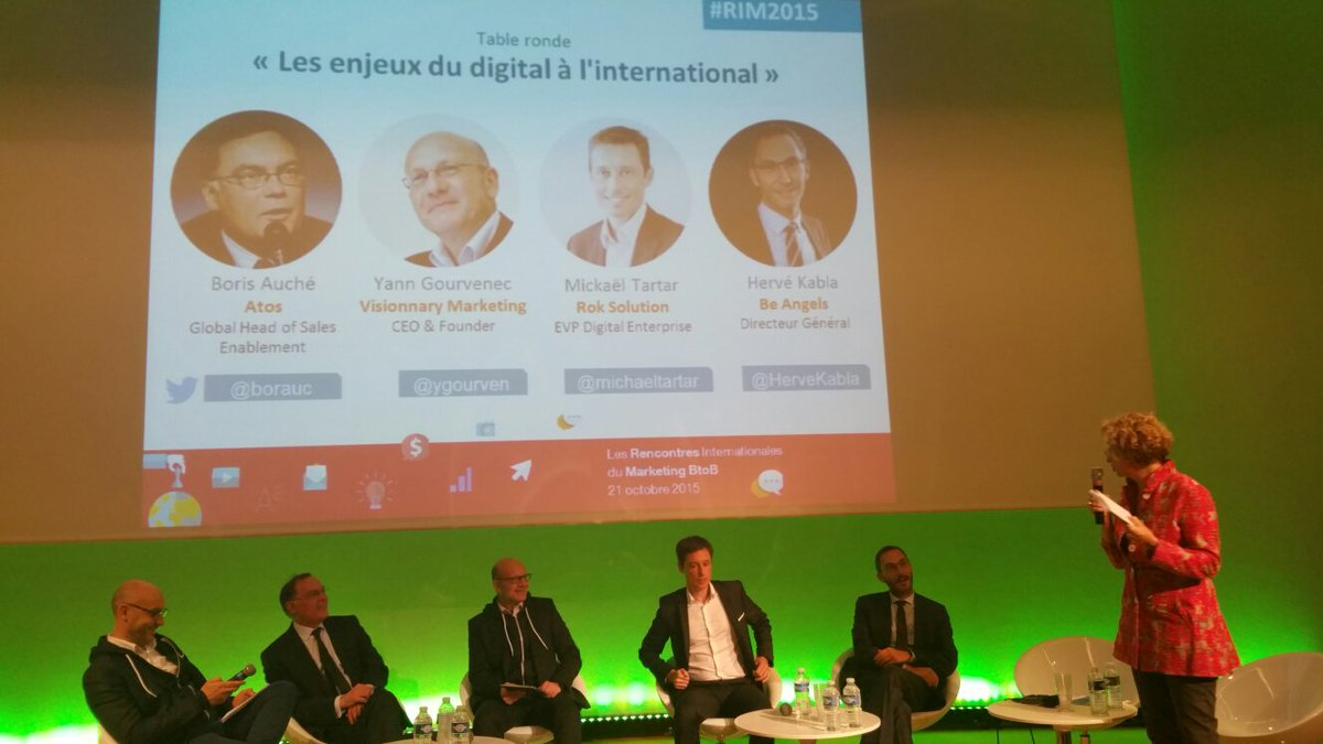 #RIM2015 TR les enjeux du digital à l'international avec @HerveKabla @ygourven @michaeltartar @bauroch https://t.co/zbfXUtgusv