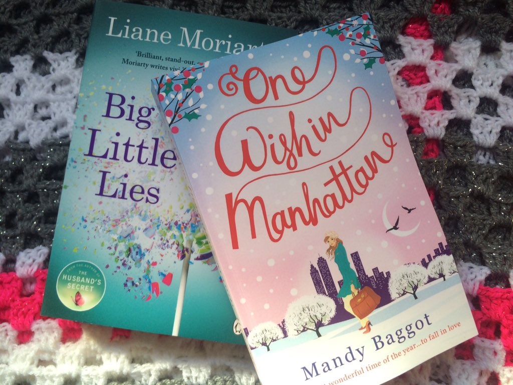 More #reads my pile is mounting up again! #OneWishInManhattan by @mandybaggot & #BigLittleLies by #LianeMoriarty