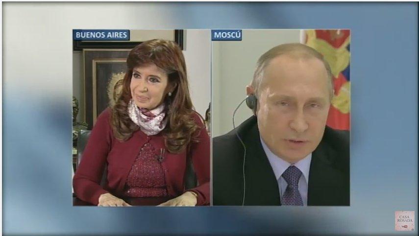 [EN VIVO] Comunicación por videoconferencia con @PutinRF https://t.co/AMlULWMLt4 https://t.co/GzKpvtFXjK