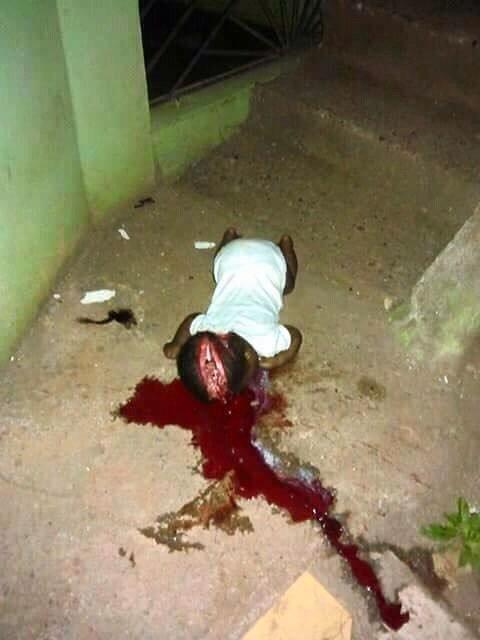 What did a child do 2those demonic Fulanis??? #FreeBiafra #FreeNnamdiKanu @NewYorkFBI @cnnbrk @BarackObama @POTUS https://t.co/dAU1uFskcm