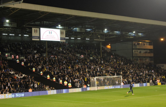 No matter what you throw at this set of fans they will never stop supporting the team. Amazing support. #MOT #LUFC https://t.co/erl4JASsMJ