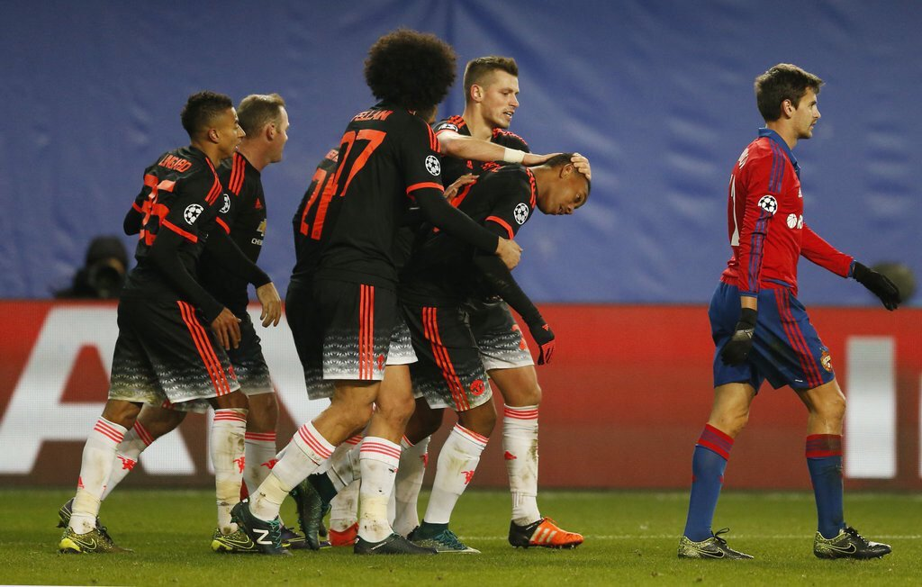 Video: CSKA Moskva vs Manchester United