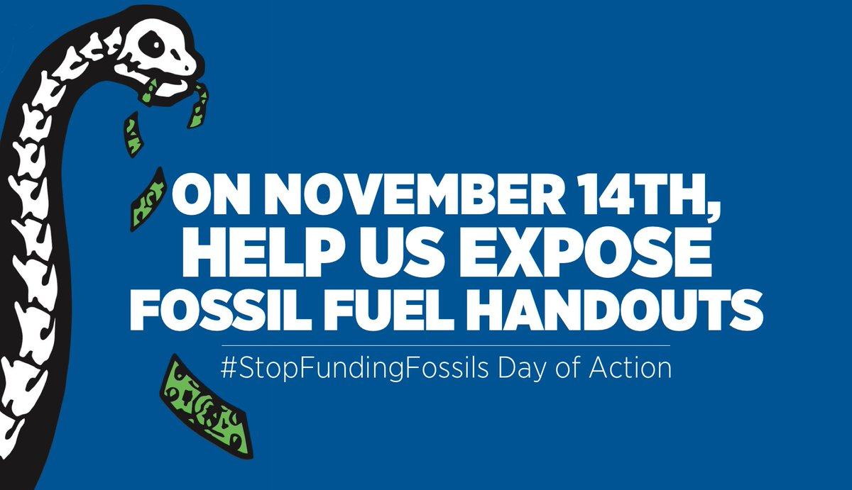 Something big is happening Nov. 14th! Learn more: https://t.co/ogScvA4Ca9 #StopFundingFossils https://t.co/Lm8UFucCts