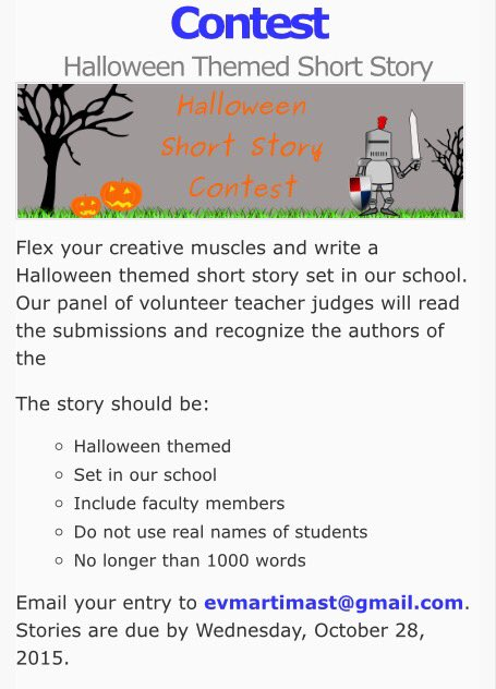 218 pm 21 oct 2015 - Halloween Short Story Contest