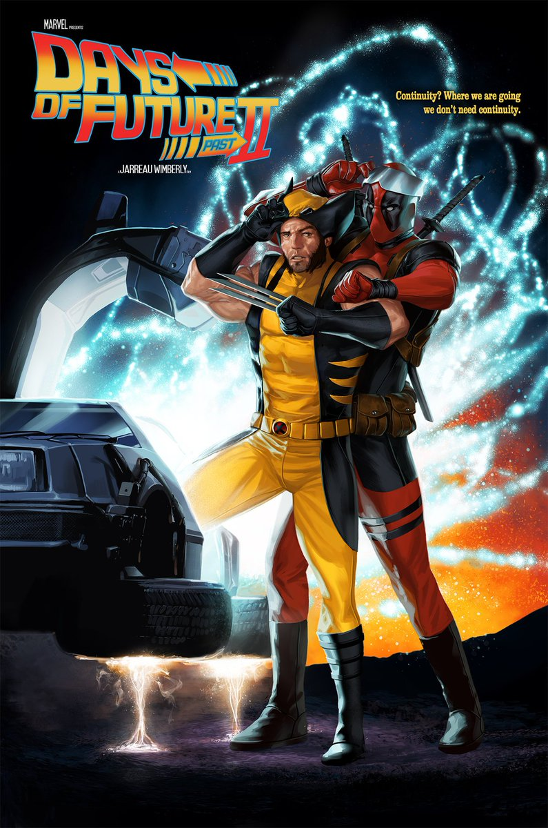 FAN-ART: 'Deadpool' & 'Wolverine' In DAYS OF FUTURE PAST II