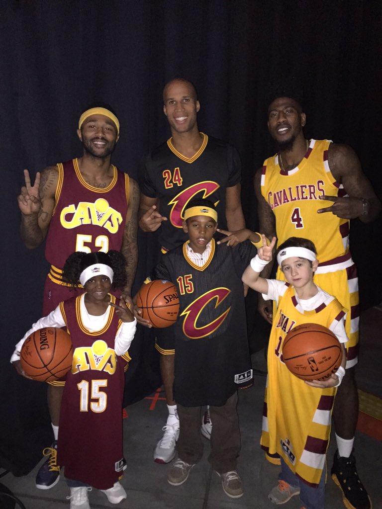 Thankfully these hideous Cavaliers jerseys were just a joke