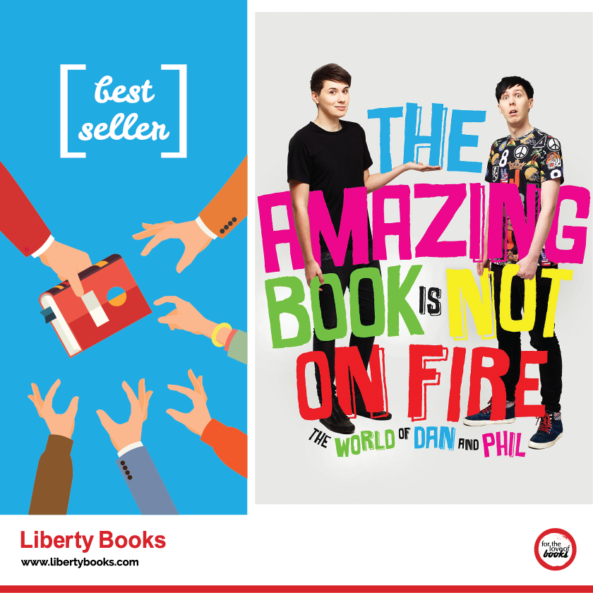 the amazing book is not on fire the world of dan and phil