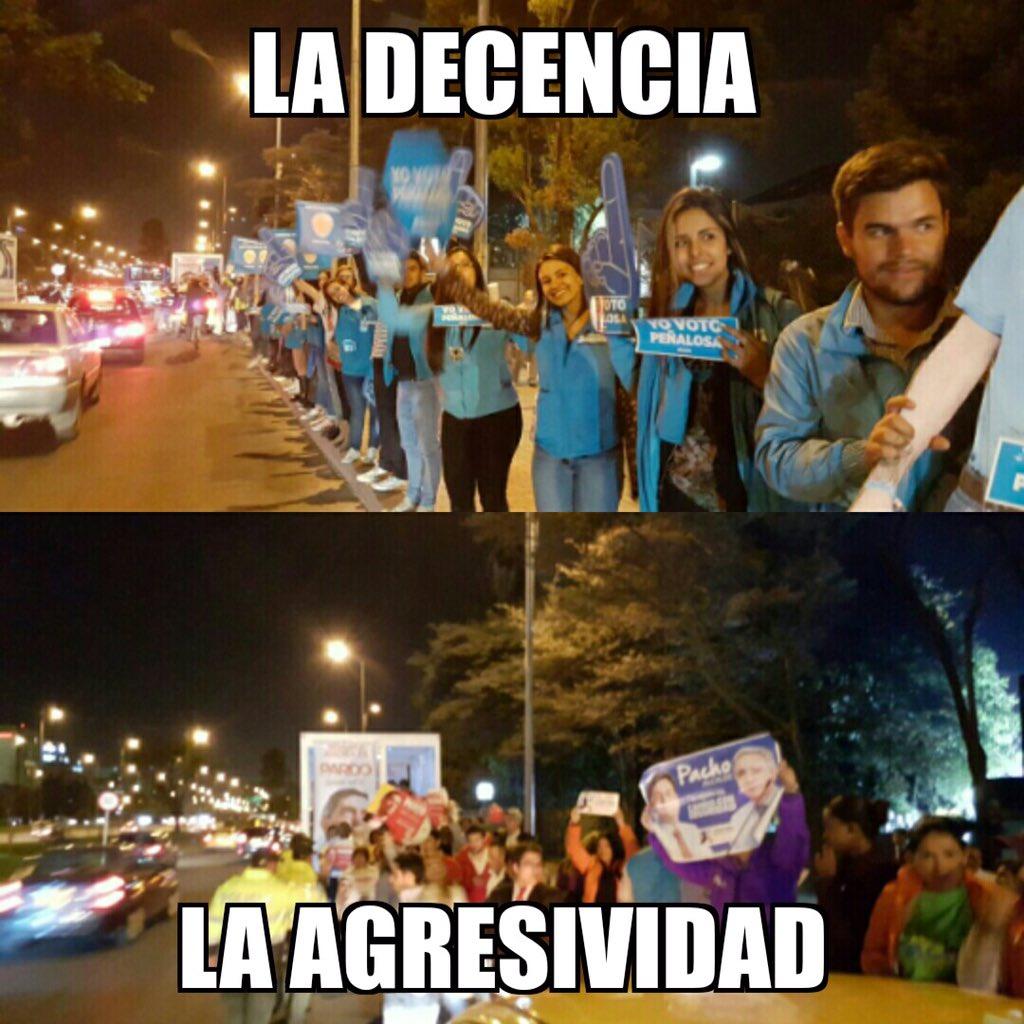 #bogotáconpeñalosa #EleccionesBogotá @Citytv @WRadioColombia mientras tanto... https://t.co/aH9Df0wG19