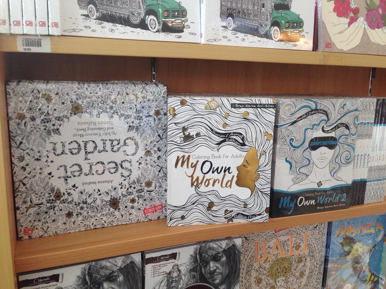 Penerbit Renebook On Twitter MyOwnWorld 1 2 Coloring Book Terapi Warna Anti Stres Tersedia Di Gramedia Cc Gramedmatraman Gramediadepok