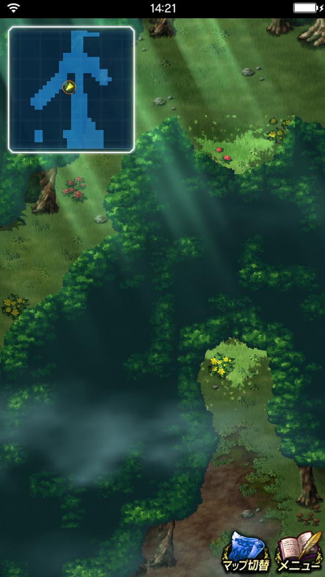 【FFBE】「ラティウスの森」探索の隠し通路情報!さっそく配置が嫌らしいwwww【エクスヴィアス】