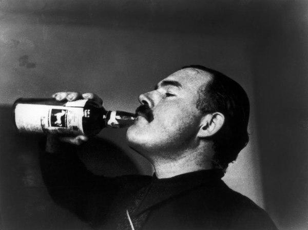 «Пиши пьяным, редактируй трезвым.» Эрнест Хемингуэй.